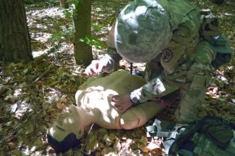 Army combat medics serve as a force multiplier