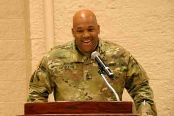 First Army religious affairs sergeant major has long history of leadership excellence