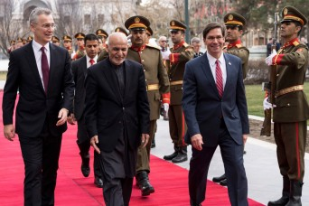 Afghan, US, NATO officials call declaration a path for peace