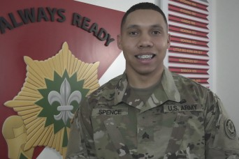 2CR spotlights Sgt. Glen O. Spence during Black History Month
