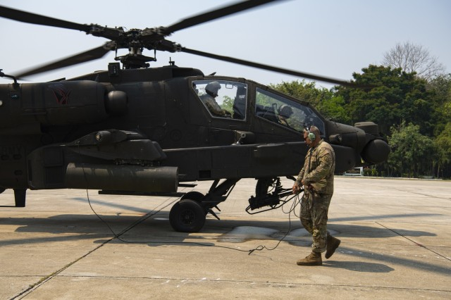Cobra Gold 20: AH-64 maintainer keeps birds in the air