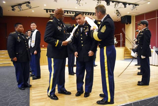 Zama Middle High School JROTC hosts cadet ball
