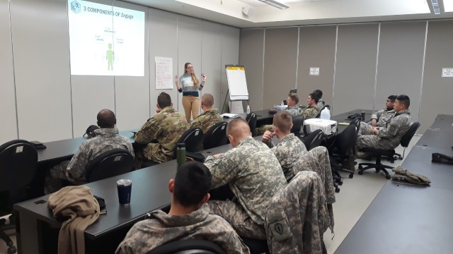 Alaska Soldiers Get Training to Increase Social Support for Each Other