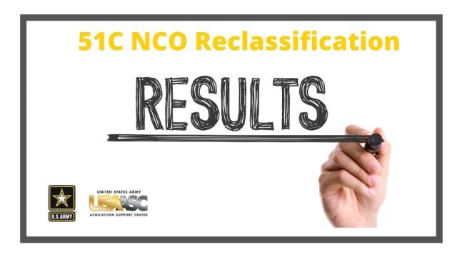 51C Reclass Results Announced