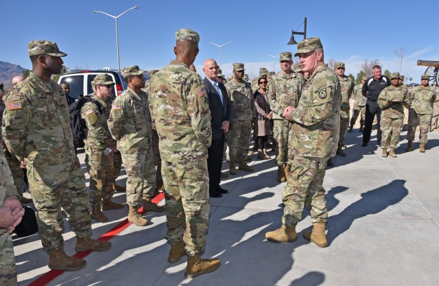 Army Futures Command leader pushes Army's partnerships with universities during visit to El Paso