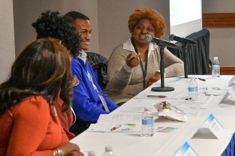 Soldier Center footwear research engineer gives back at BEYA STEM Conference