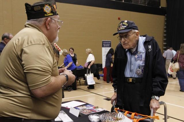 Ft. Stewart, Hunter leaders honor, inform retirees