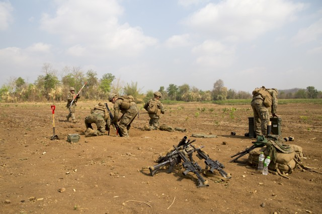 Cobra Gold 20: US Marines with 1st Battalion, 5th Marines participate in CALFEX
