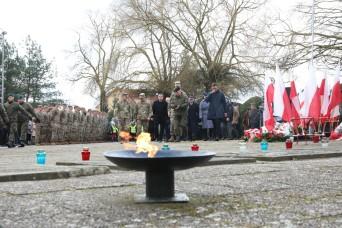 U.S., Polish soldiers participate in 75th liberation ceremony of Drawsko