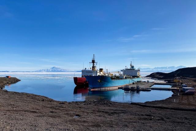 331st Transportation Det assists Antarctica mission