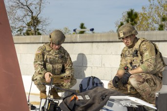 Army EOD Soldiers train with civilian counterparts at Raven's Challenge