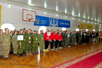 U.S. Soldiers Participate in Annual Kyiv Games