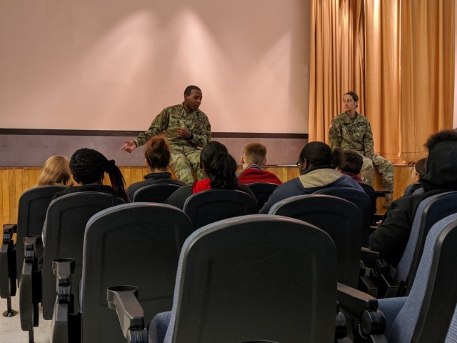 High school students tour Hunter Army Airfield