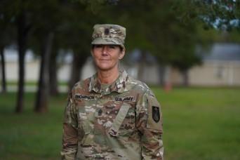 A citizen Soldier story: Command Sgt. Maj. Michelle Thompson