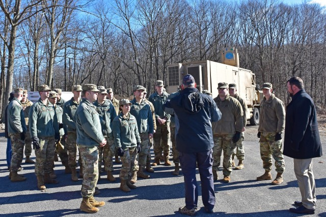 High energy laser engineers engage with West Point cadets