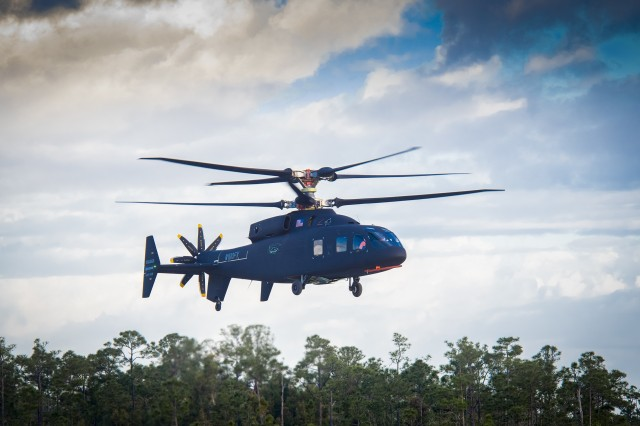 The FLRAA CD&RR project agreements under the AMTC OTA were awarded to Bell Textron Incorporated, and Sikorsky Aircraft Corporation. These competitively awarded OTA agreements consist of risk reduction activities that combine government research with input from industry partners to inform the future development and procurement of the FLRAA weapons system. Deliverables include initial conceptual designs, requirements feasibility, and trade studies using model based systems engineering. These CD&RR agreements will extend over two years, informing the final Army requirements and the program of record planned for competition in 2022. (Photos courtesy of Industry)