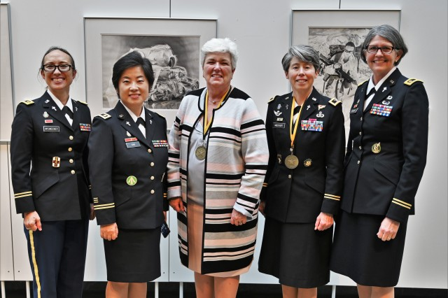 Retired CH Diefendorf and CH Meeker inducted into the Army Women's Foundation 2020 Hall of Fame
