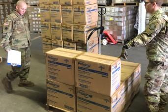 Michigan National Guard helping distribute COVID-19 supplies