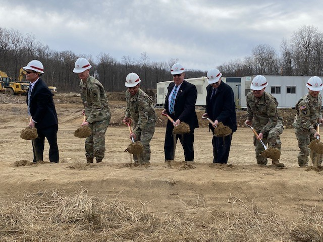 Ground broken for new Explosive Ordnance Disposal facility