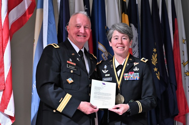 CH (Col.) Karen Meeker inducted into the Army Women's Foundation 2020 Hall of Fame