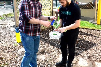 Miesau Army Depot Child Development Center goes deep with cleaning