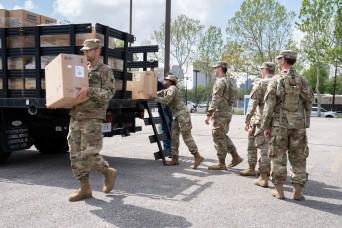 La. Guard focusing on assessments, medical support