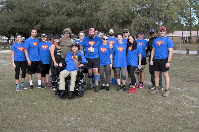 SFC Dawson completes first 5k since suffering combat injury