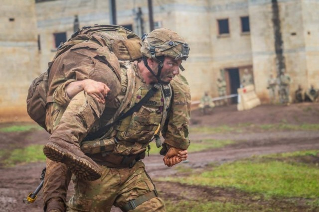 Soldiers from 1st Battalion, 21st Infantry Regiment (Gimlets), 2 IBCT, 25th Infantry Division deployed to Kahuku Training Area Oahu, Hawaii to conduct company evaluations in movement to contact, attack and defense operations.