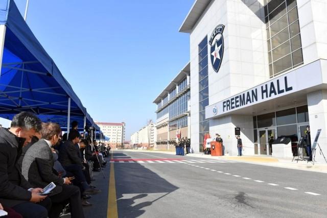 Freeman Hall Dedication Ceremony
