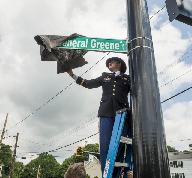 General Greene Avenue dedicated