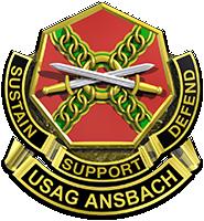 USAG Ansbach logo