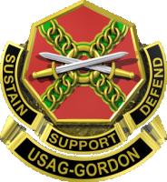 U.S. Army Fort Gordon logo