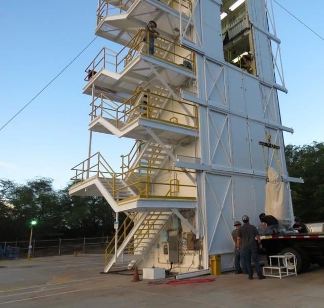 Test launch preparation