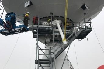 Depot updates key Department of Defense communication terminals