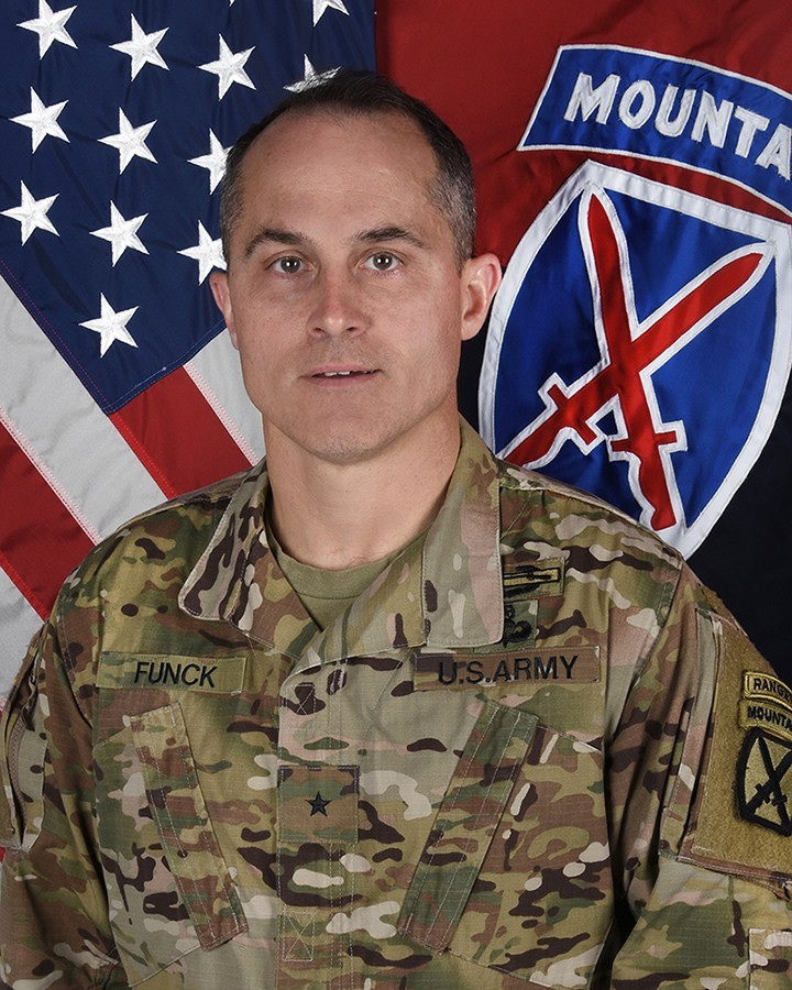 Brig. Gen. Brett T. Funck