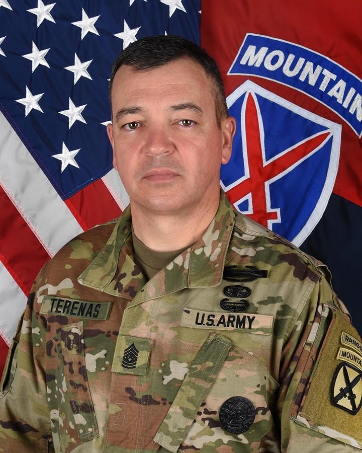 Command Sgt. Maj. Mario O. Terenas