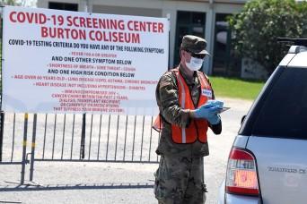 Growing Louisiana Guard presence supports COVID-19 response