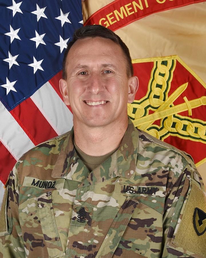 Command Sgt. Maj. Roberto Munoz