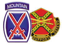 U.S. Army Fort Drum logo
