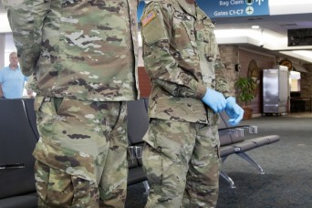 254th Transportation Battalion responds to the COVID-19 mission