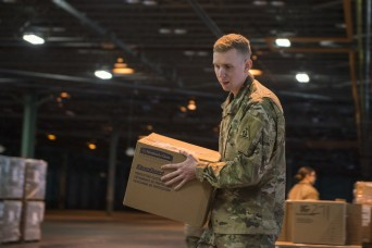 Connecticut National Guard helps distribute medical supplies