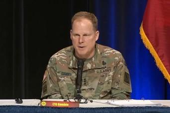 Army Logistics Is Set Up to Respond to Coronavirus Crisis, LTG Gamble Says