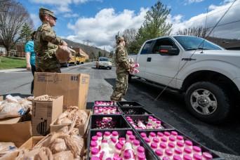 West Virginia Guard helps state fight spread of coronavirus