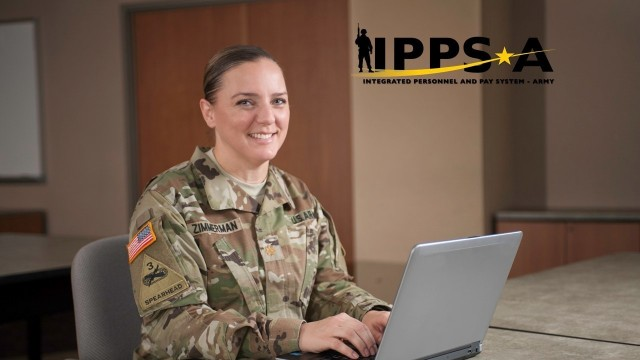 Maj. Sherri Zimmerman, Integrated Personnel and Pay System – Army (IPPS-A) Requirements and Data Branch lead works on organizing data in IPPS-A.  Zimmerman first received exposure to Army Human Resources processes while serving with the 6250th Unites States Army Hospital at Joint Base Lewis McChord, Madigan Army Medical Center (MAMC).  It was during this time she realized the Army needed to streamline it's HR processes into one system.