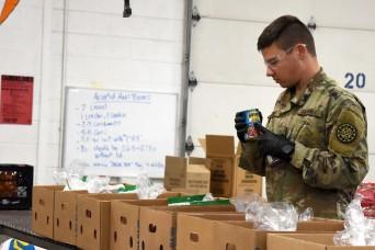 Michigan Guard helps food banks during COVID-19 response