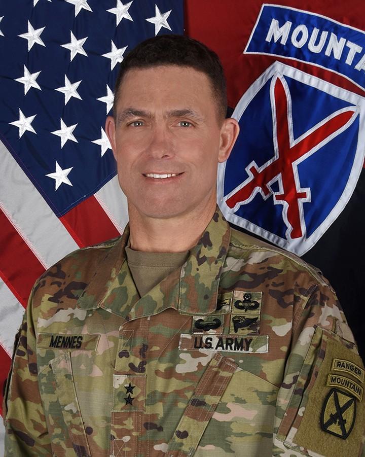 Maj. Gen. Brian J. Mennes