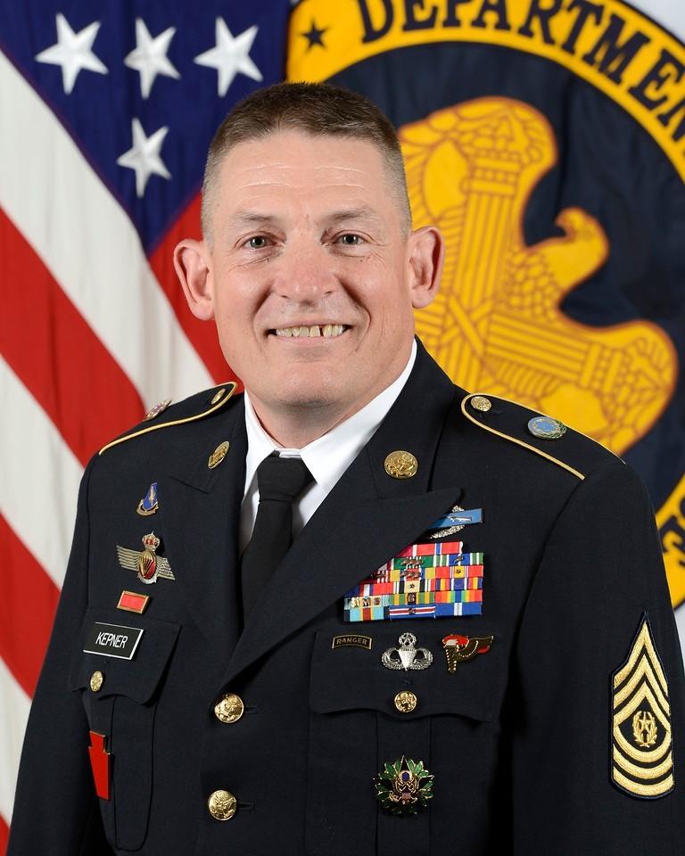 Army Command Sgt. Maj. Christopher Kepner