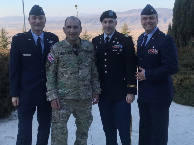 U.S. military surgeons save life of Georgian Soldier, reunited years later