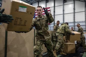 Mass. National Guard moves critical medical supplies