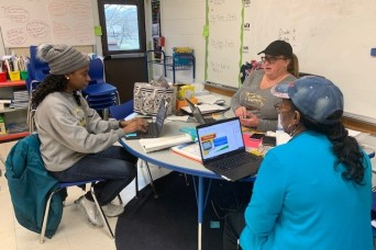 Fort Knox Schools learn new ways to teach children virtually during pandemic